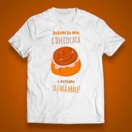 "T-shirt ""La mia cioccolata"""
