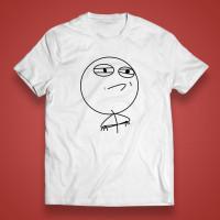 "T-shirt ""Meme face"""
