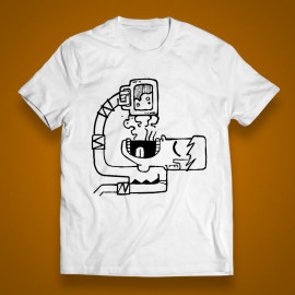 "T-shirt ""Professional drinker"""