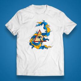 "T-shirt ""Pyramid eye"""