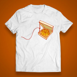 """T-shirt """"The pizza trap"""""""