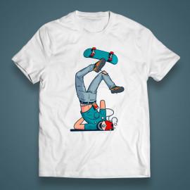 """T-shirt """"Unlucky skater"""""""